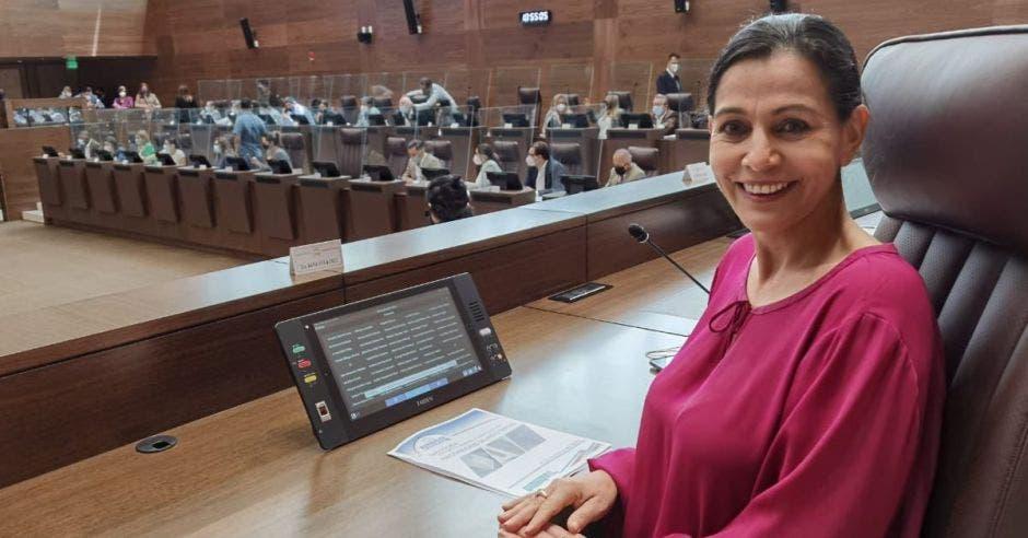 María Vita Monge, diputada del PUSC.