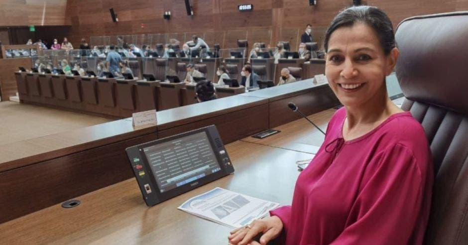 María Vita Monge, diputada. Archivo/La República