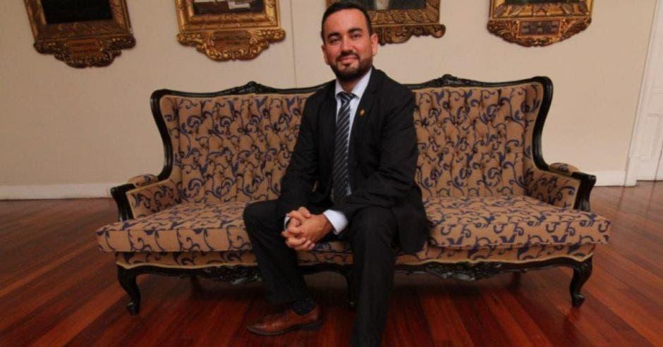 Jonathan Prendas, diputado de Nueva Republica. Archivo/La República