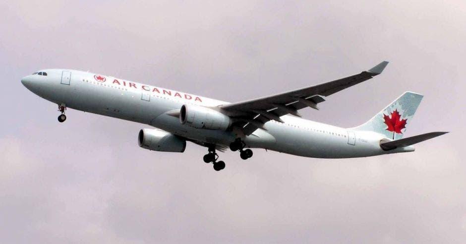 un avión de Air Canada