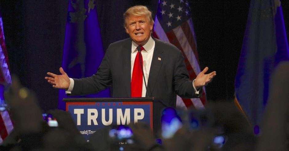 Donald Trump . Shutterstock/La República.