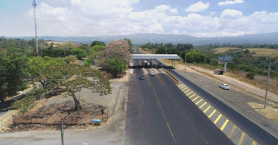 Ruta 1 entre San José y San Ramón