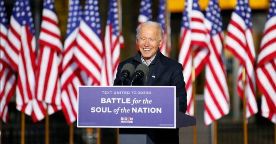 Joe Biden, nuevo presidente de EE.UU. Archivo/La República