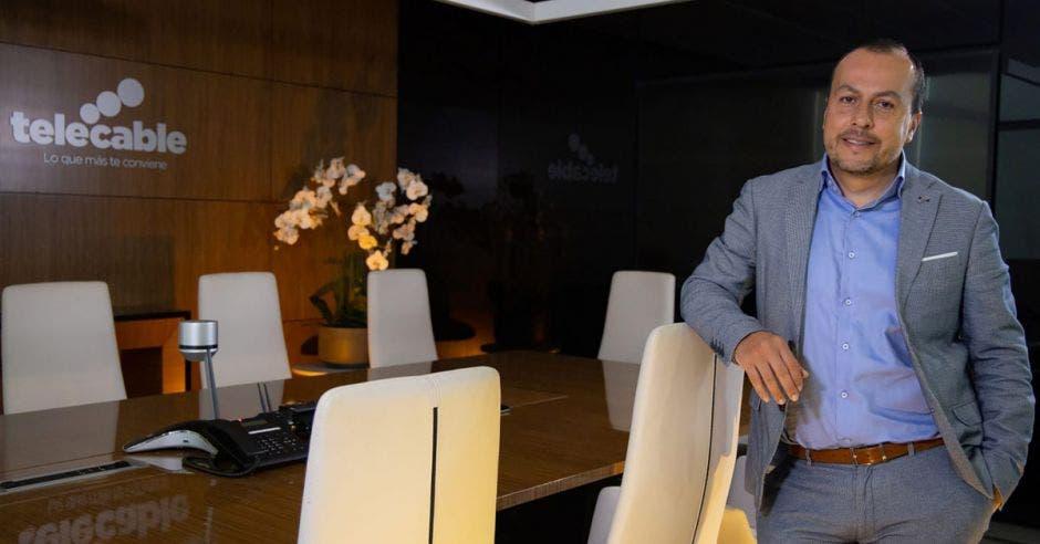 Ronald Jiménez, director de la Unidad Residencial de Telecable.