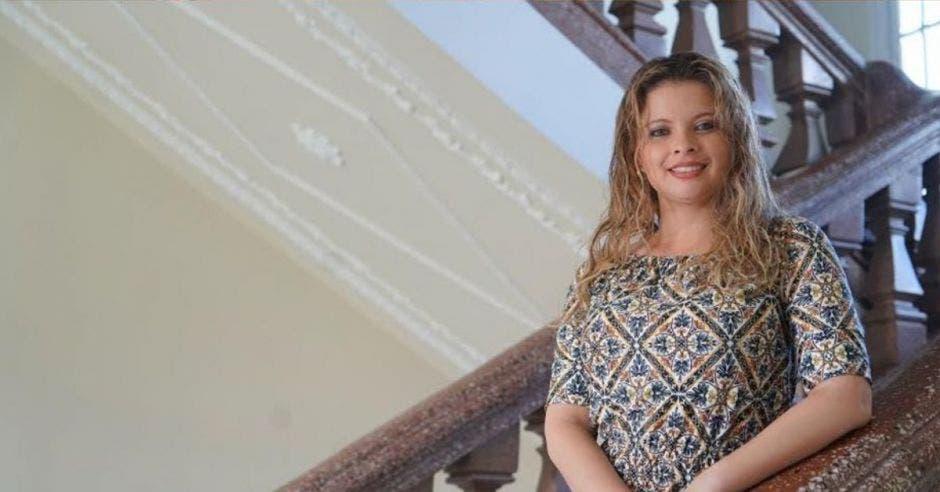 Xiomara Rodríguez, jefa de Restauración