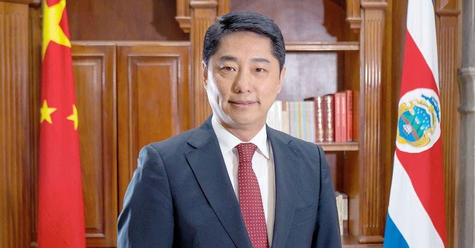 Tang Heng, Embajador de China en Costa Rica. Júpiter Silva/La República.