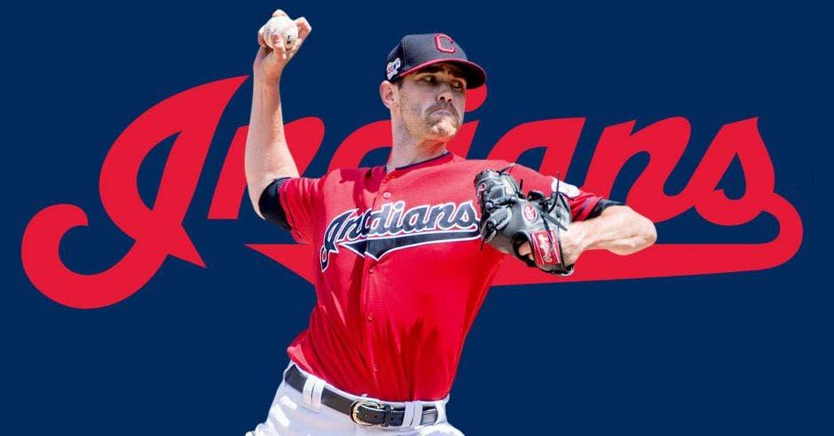 Shane Bieber pitcher estelar de los Indios,