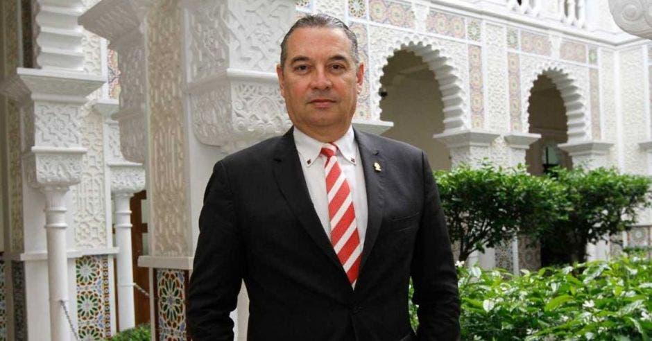 Roberto Thompson, diputado de Liberación Nacional. Archivo/La República.