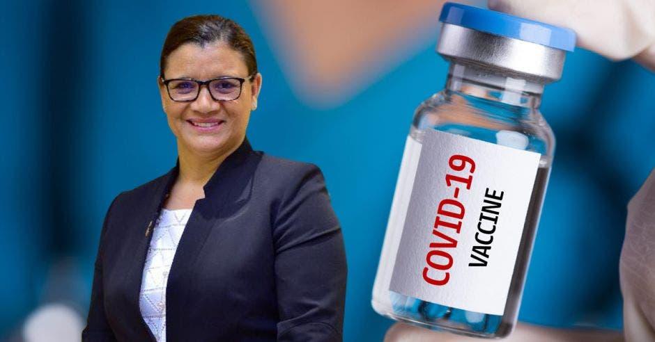 Graciela Morales, líder de asuntos científicos y médicos para mercados emergentes de la división de vacunas de Pfizer.