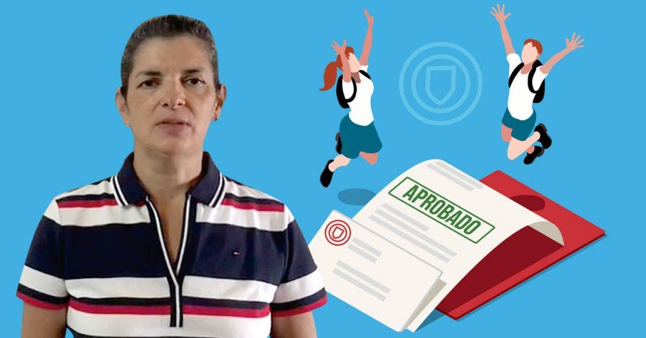 Rocío Torres, jefa de evaluación de los aprendizajes del Ministerio de Educación.