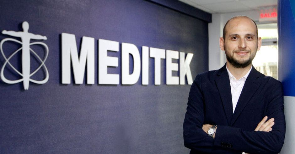 Leonel Sandí, gerente de la Unidad de Negocios de Meditek