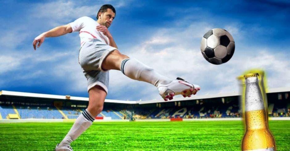 futbol y licor