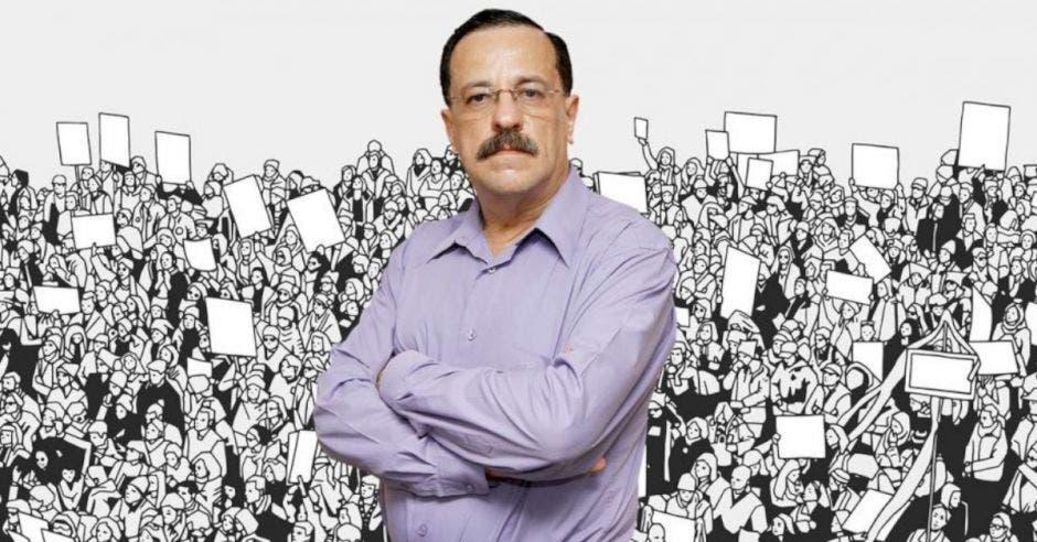 Albino Vargas, secretario Anep. Archivo/La República.