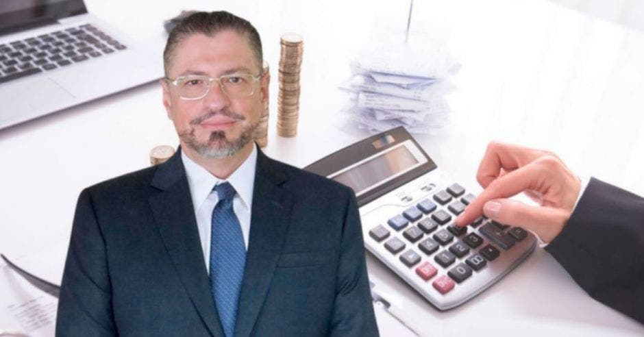Rodrigo Chaves, exministro de Hacienda