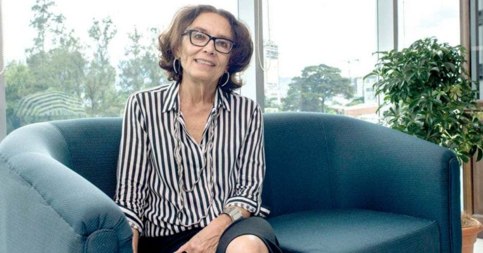 Patricia Mora, presidenta del Inamu. Archivo/La República