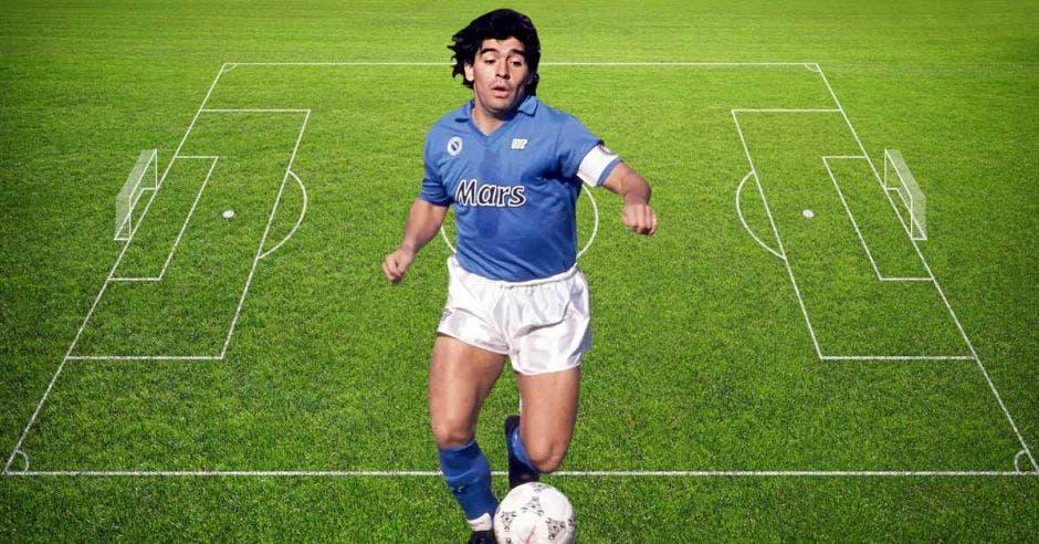 Diego Maradona, mito del sur italiano