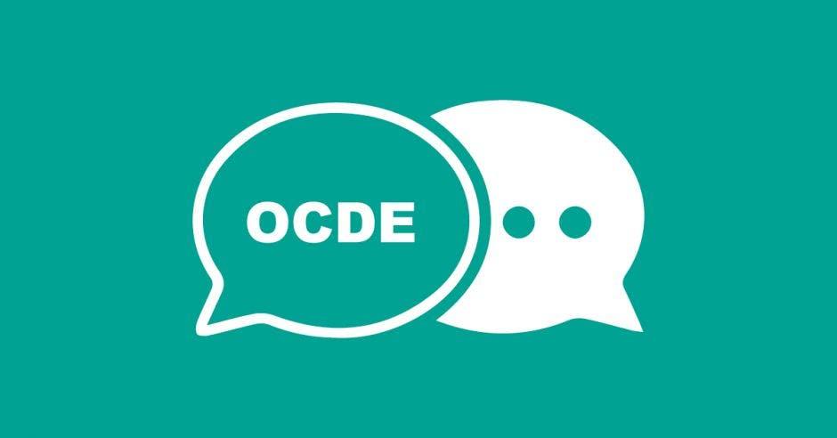Burbujas de diálogo que dicen OCDE