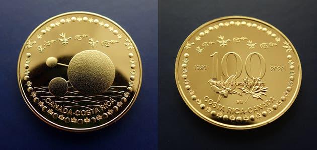 Esta es la moneda conmemorativa. Cortesía/La República.