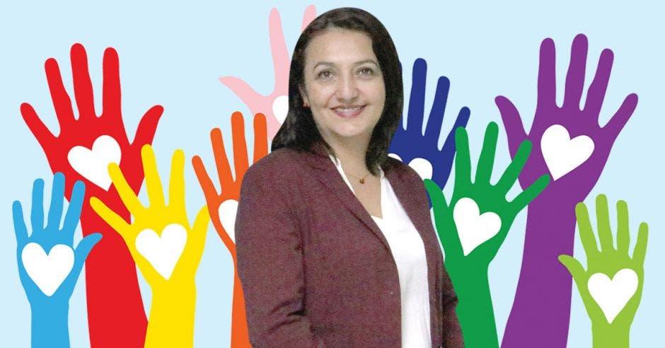 Carolina Lizano, Gerente de Relaciones Corporativas y Sostenibilidad de Coopeservidores