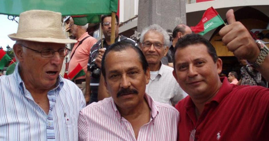 Célimo Guido (centro). Archivo/La República