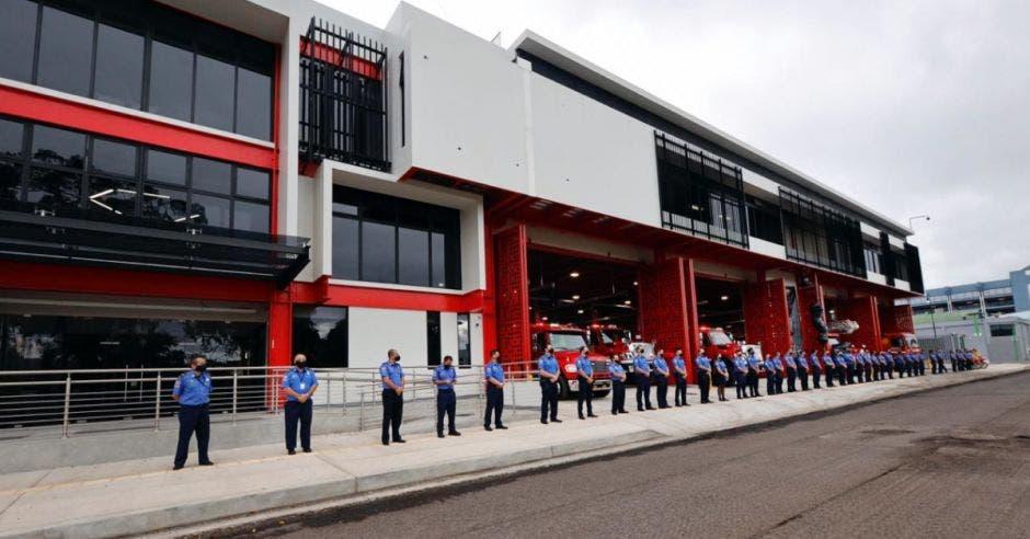 nueva estación de bomberos