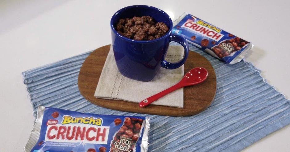Chocolates en una mesa
