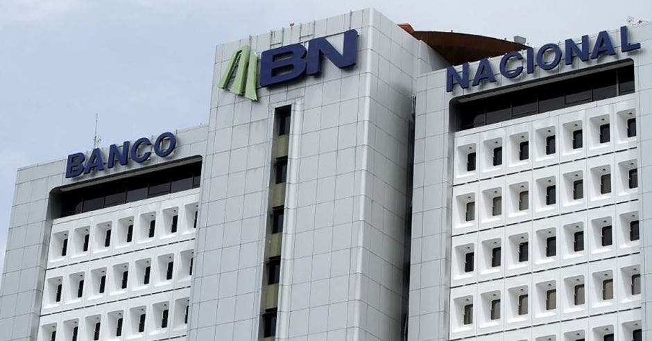 Fachada del Banco Nacional