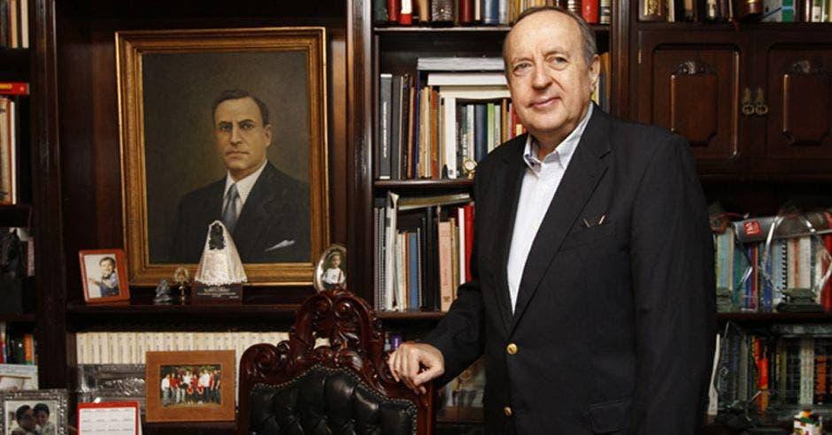 """""""Uno ve al PAC como el principal responsable de esta crisis porque han gobernado dos períodos consecutivos"""", dijo Rafael Ángel Calderón. Archivo/La República."""