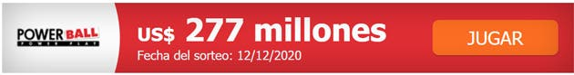 Powerball USA 277 million