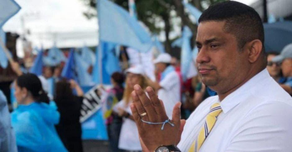 Melvin Núñez, diputado de Restauración. Archivo/La República.