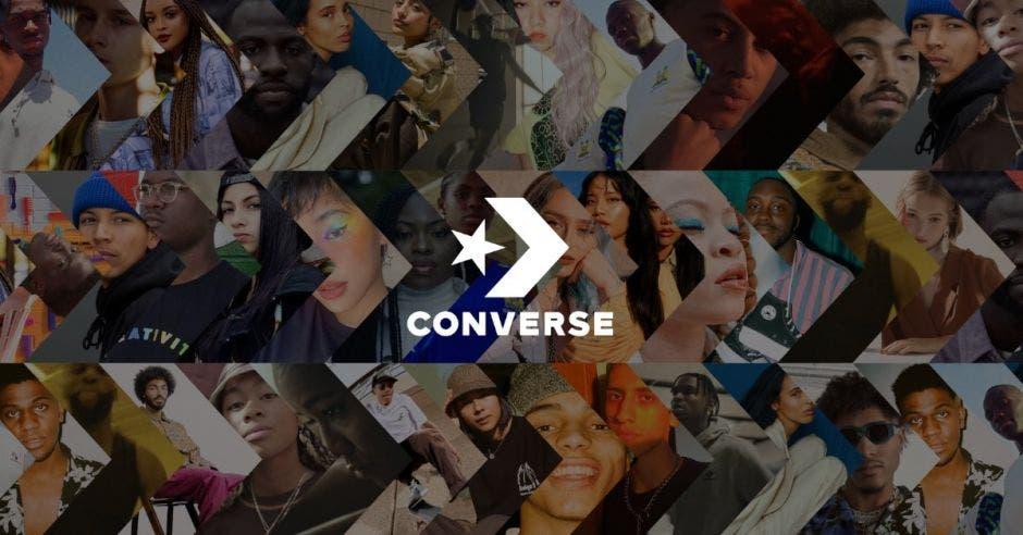 Foto publicitaria converse