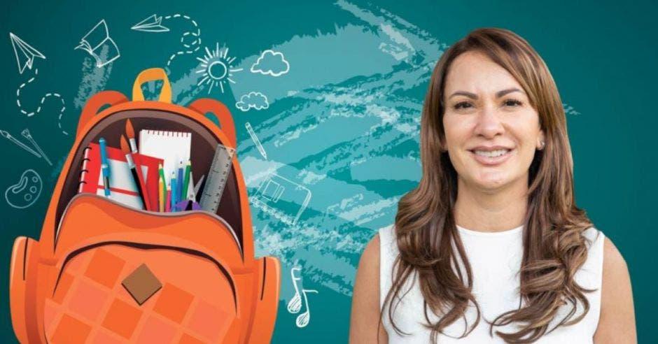 Beatriz Ramírez, vicepresidenta de la Asociación de Centros Educativos Privados (ACEP). Archivo/La República.