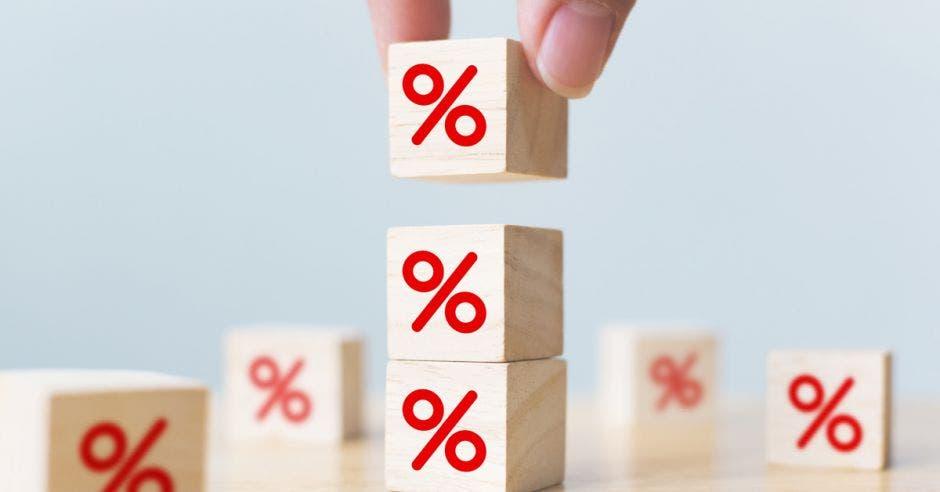 Cubos con porcentaje