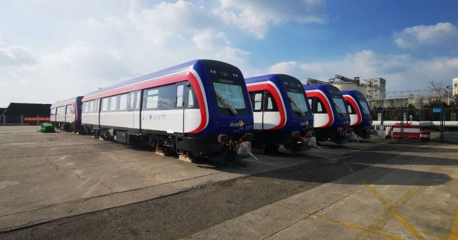 Estos son los nuevos trenes. Archivo/La República.