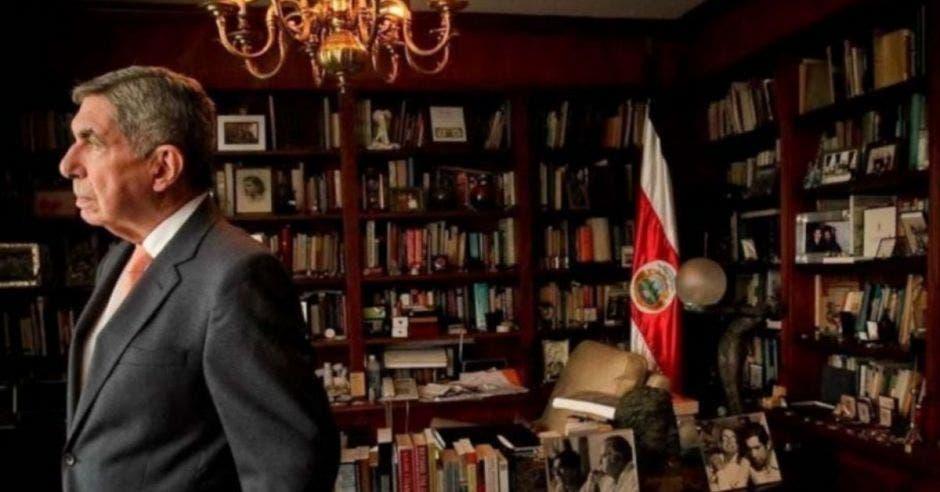 Óscar Arias, expresidente. Archivo/La República.