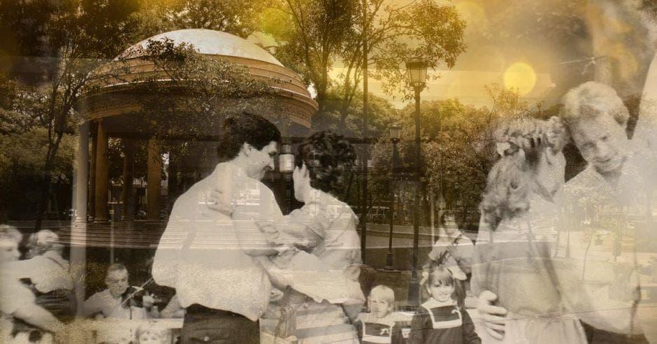 Los bailes de fin de año en el parque Morazán constituyeron, durante los siglos XIX y XX, una tradición del comportamiento festivo de la sociedad costarricense.