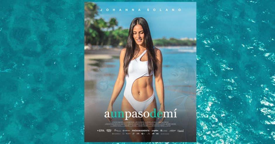 Poster de película con Johanna Solano