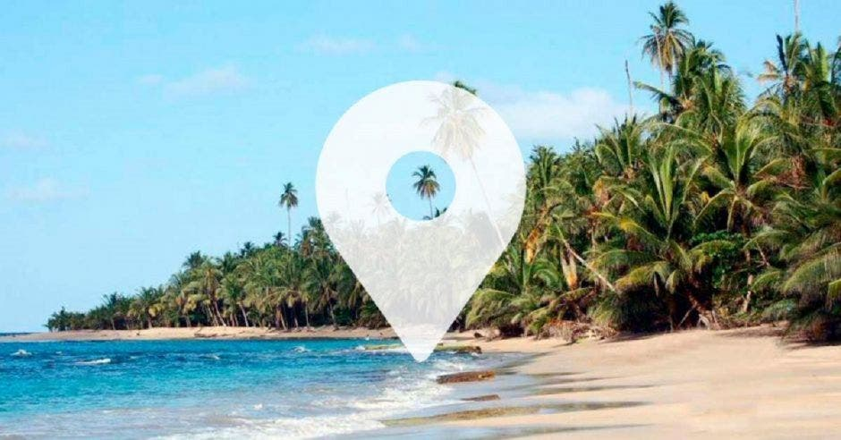 Una playa de Costa Rica