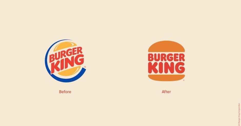 Logos de BK