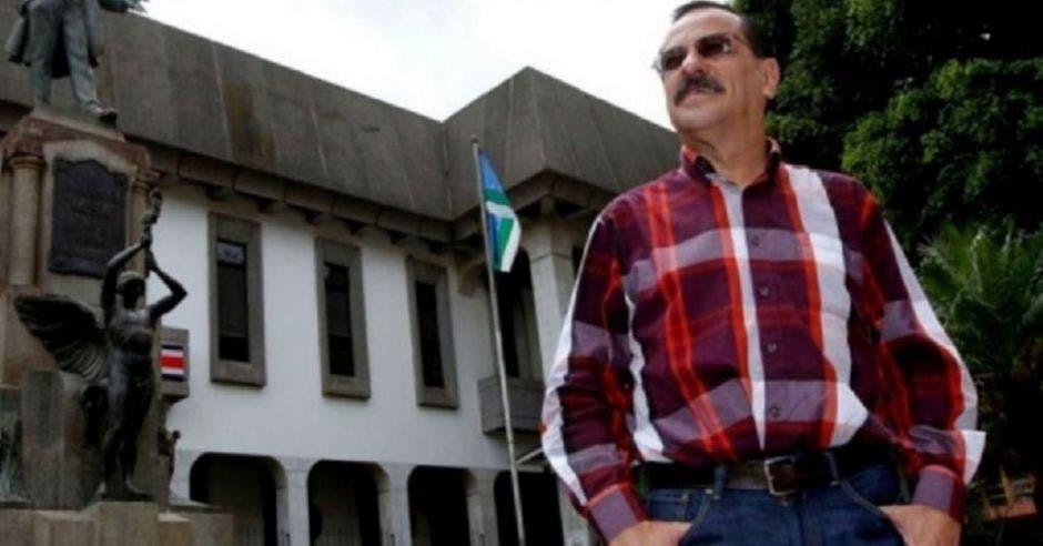 Albino Vargas, secretario de la ANEP. Archivo/La República
