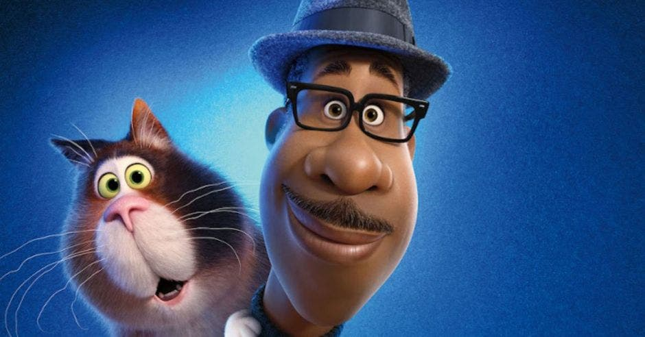 Retrato de los personajes de la película Soul