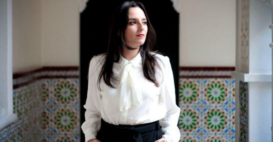Natalia Díaz, presidenta de Unidos Podemos