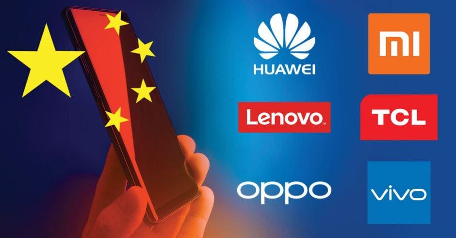 Los fabricantes chinos de teléfonos inteligentes