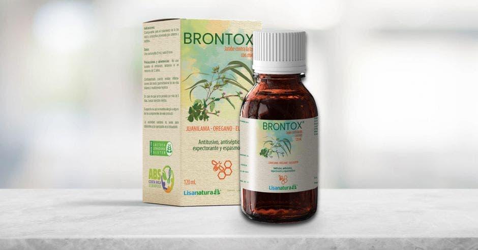 Una imagen del jarabe BRONTOX®