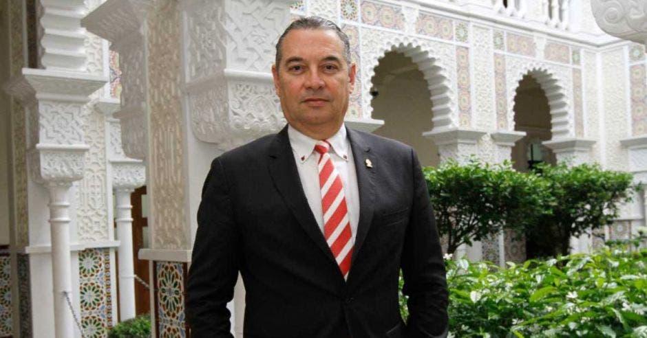Roberto Thompson, diputado de Liberación Nacional.