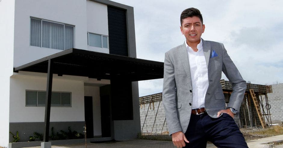 Andrés Borrero, ingeniero y gerente comercial de la desarrolladora.