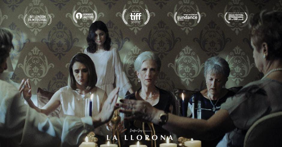 Afiche de La Llorona