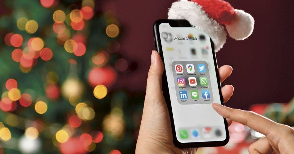 Iphone en Navidad