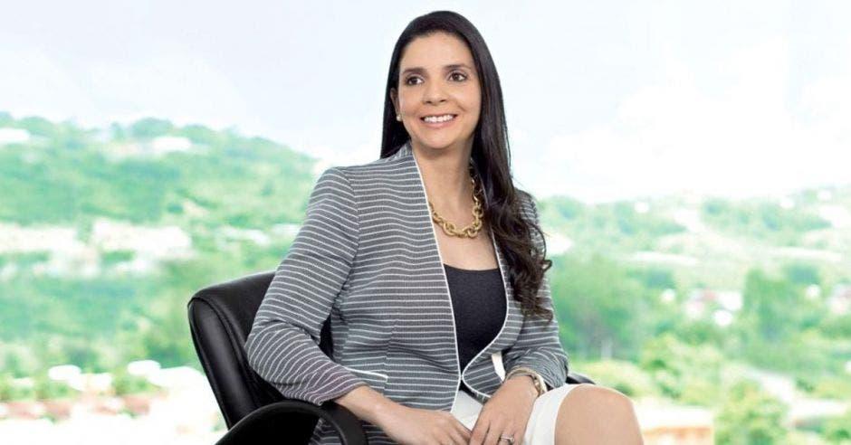 Andrea Centeno, presidenta de Japdeva
