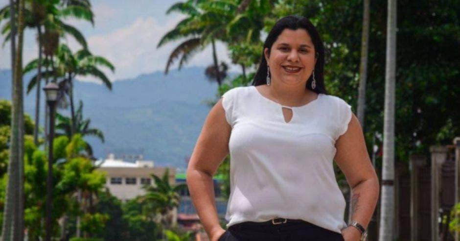 Paola Vega, diputada del PAC.